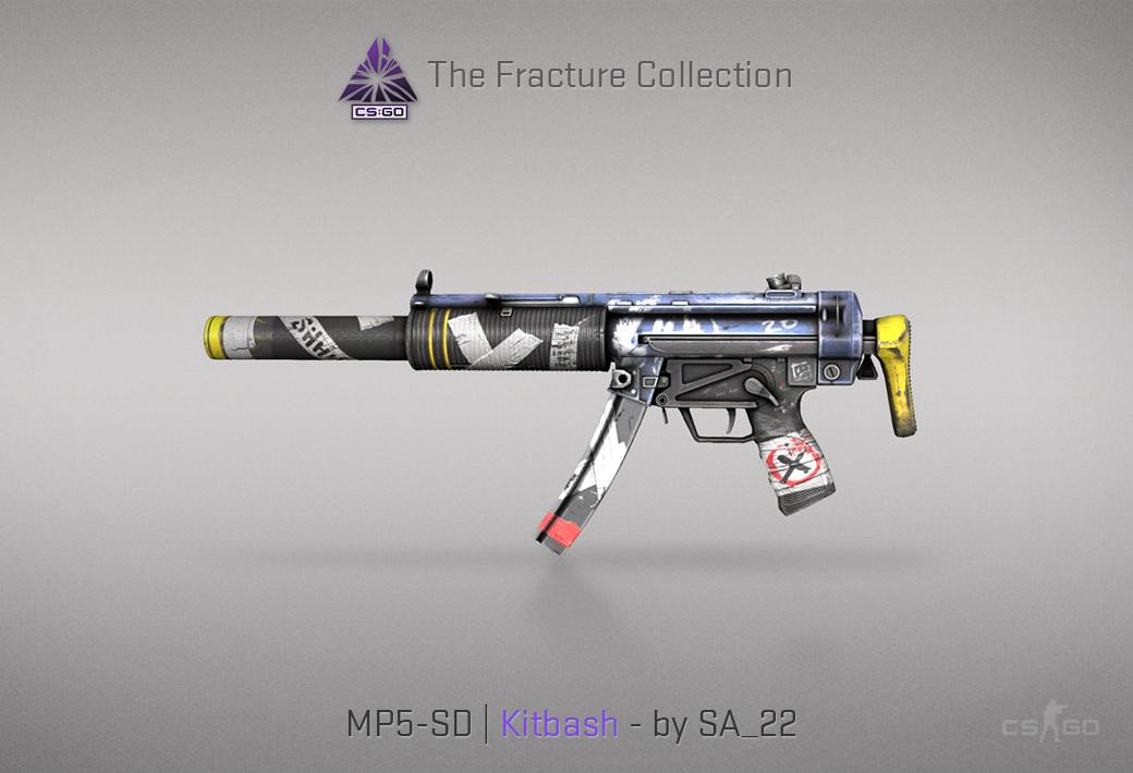 MP5-SD Kitbash skin for CSGO