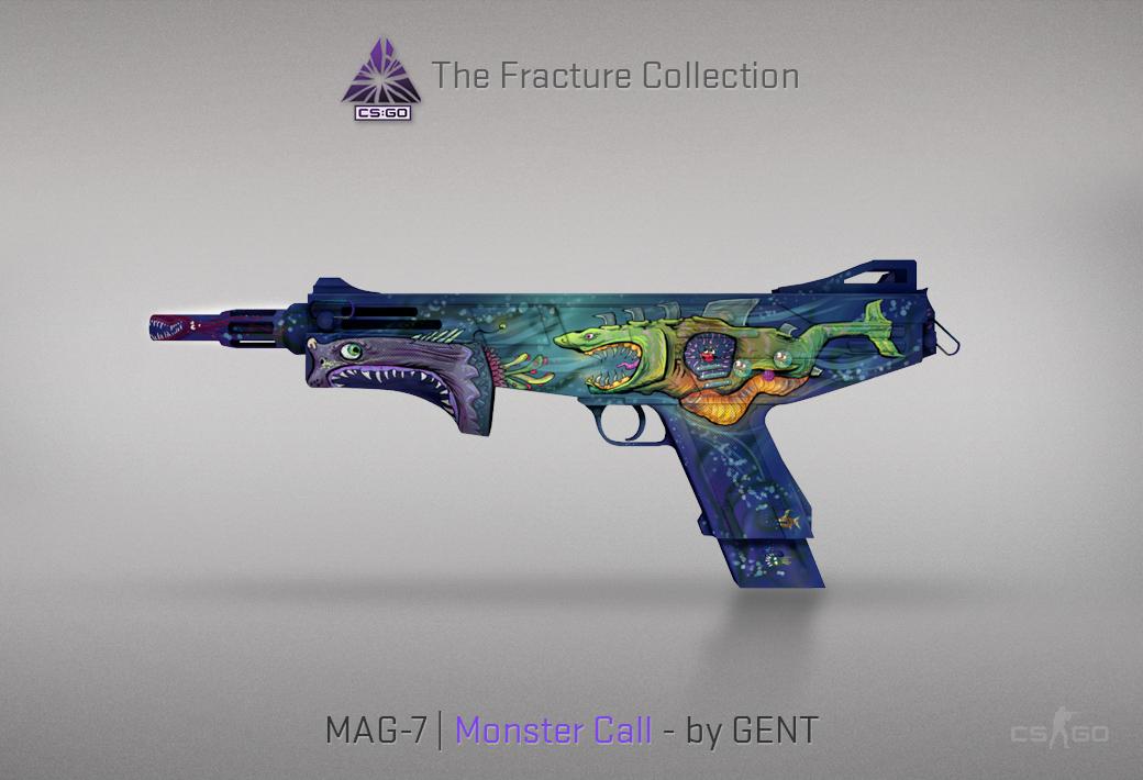 MAG-7 Monster Call skin in CSGO