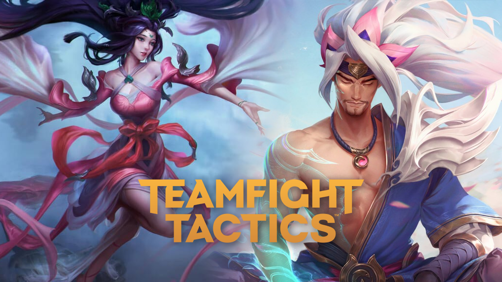Sacred Sword Janna and Spirit Blossom Yasuo in League of Legends
