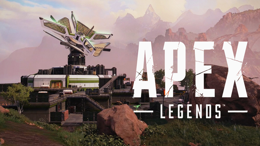 Kings canyon map in Apex Legends