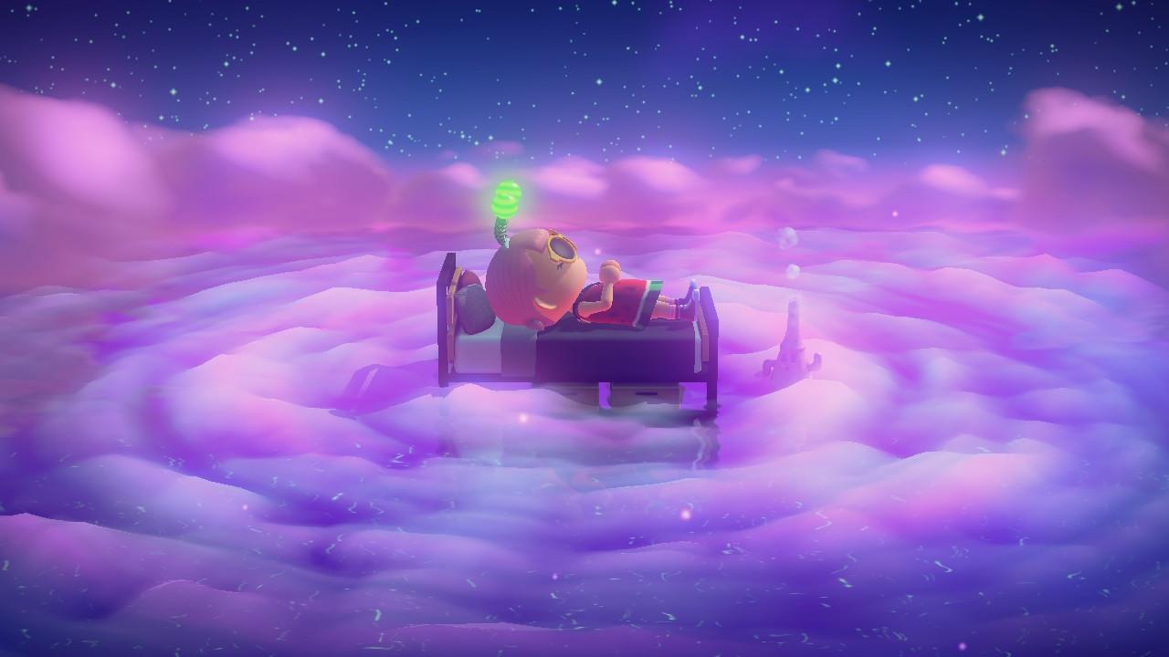 Animal Crossing New Horizons dream island feature