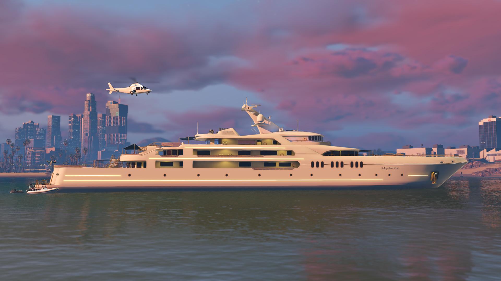 Yacht in GTA