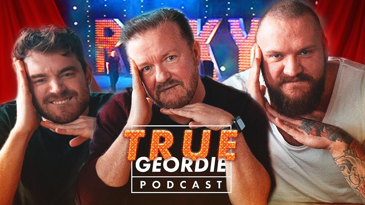 Ricky Gervais on The True Geordie Podcast