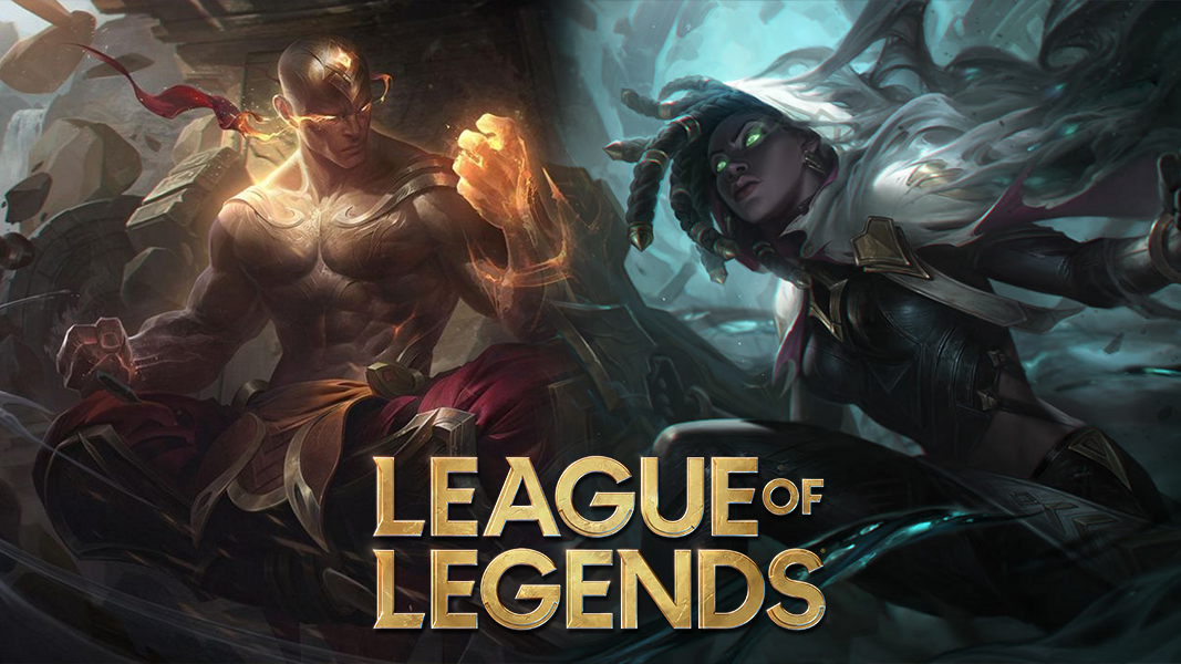 Senna and lee sin from League of Legends