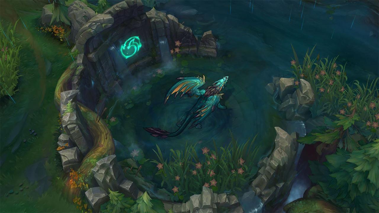 Ocean dragon in League of Legends