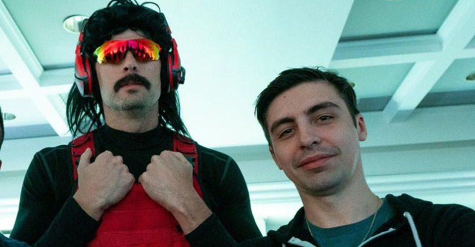 dr disrespect with shroud