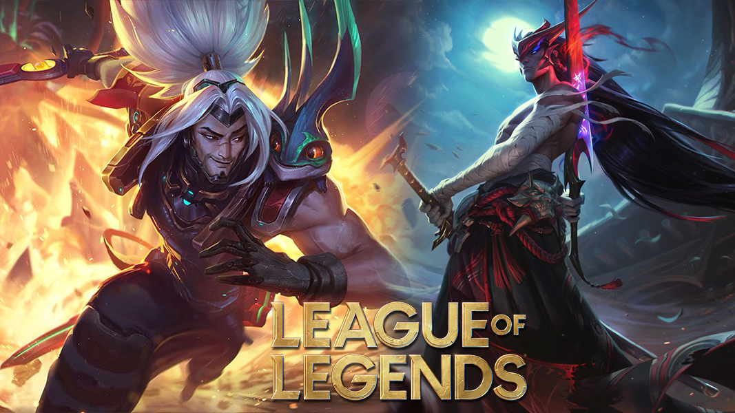 Yasuo and Yone from league of legends