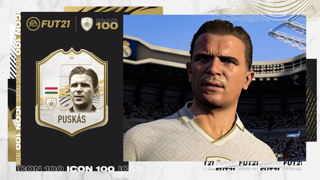 Ference Puskas as FIFA 21 ICON
