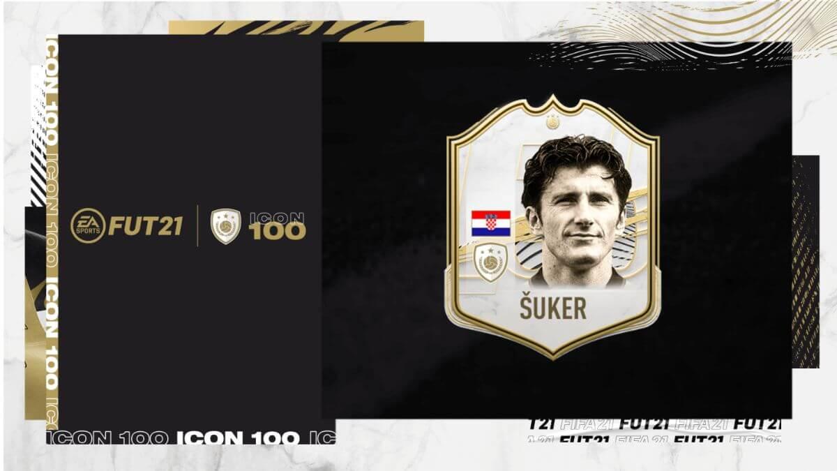 Suker in FIFA 21