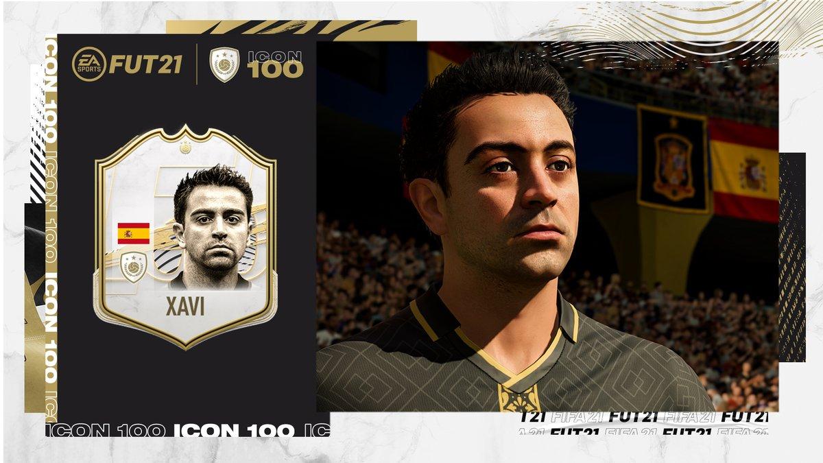 Xavi in FIFA 21