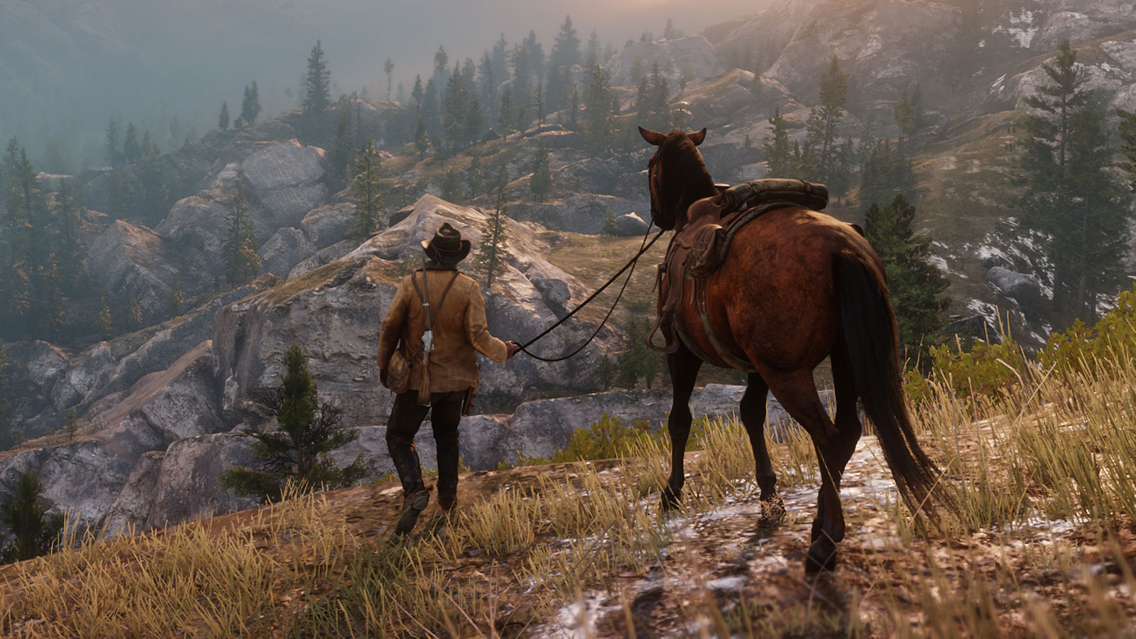 red dead redemption 2 horse