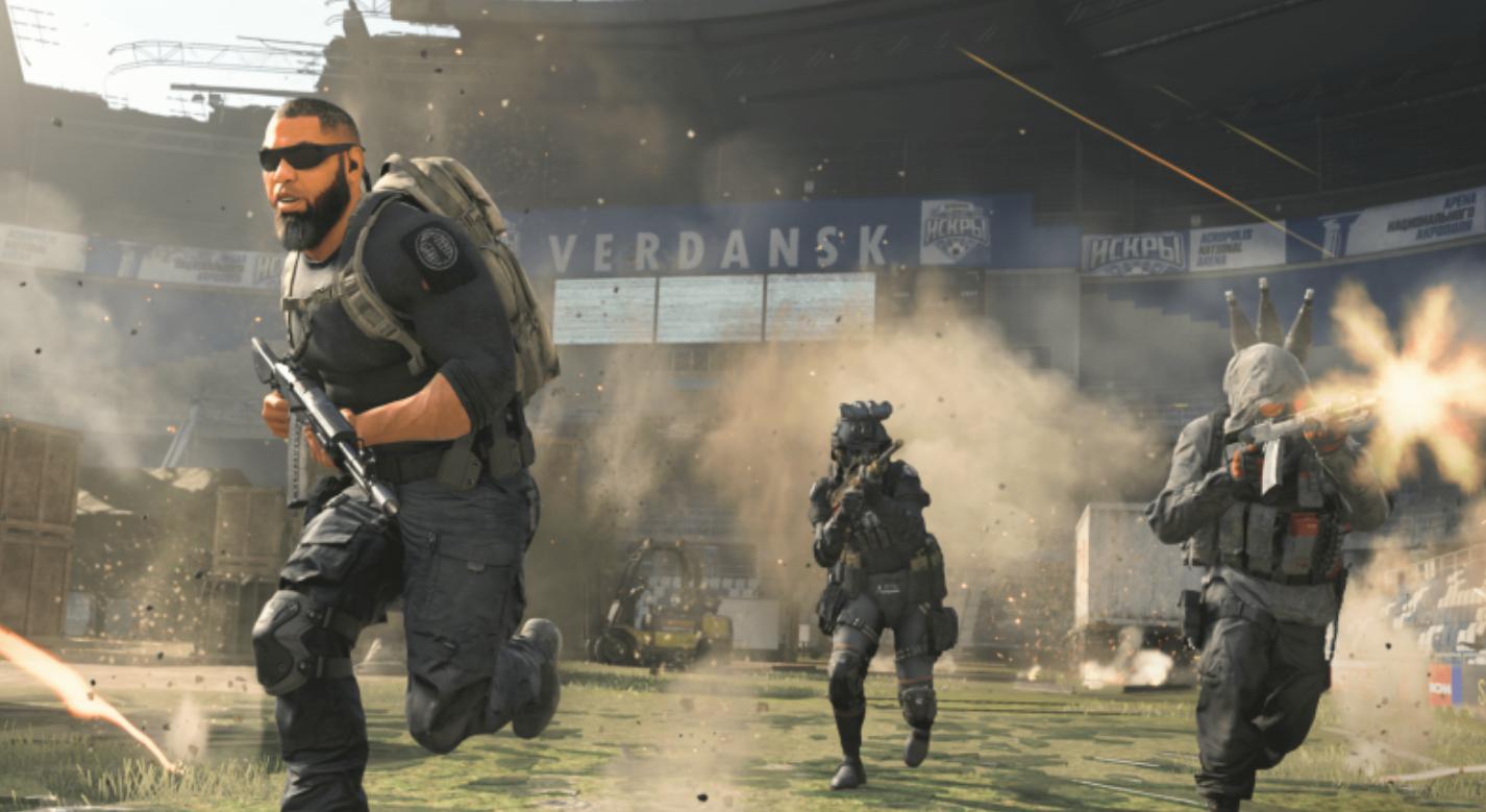 Warzone Season 5 Stadium gameplay