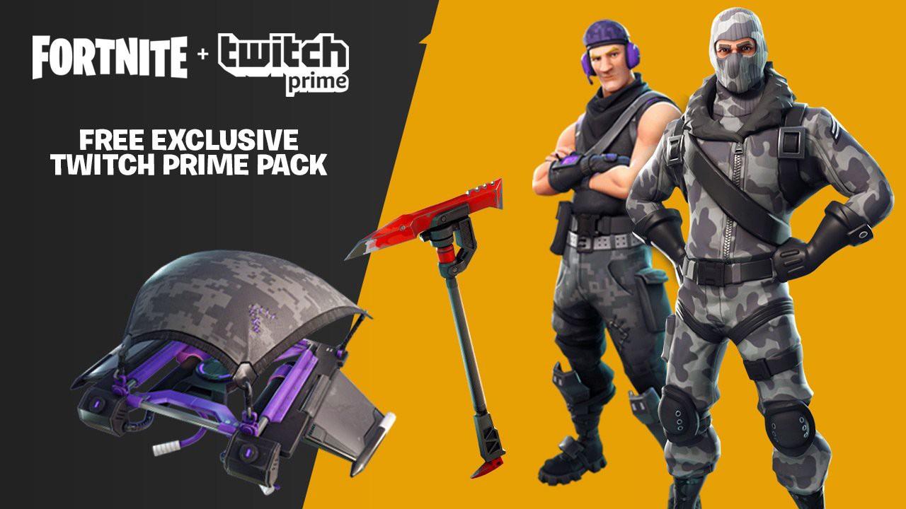 Twitch Prime Fortnite exclusive.