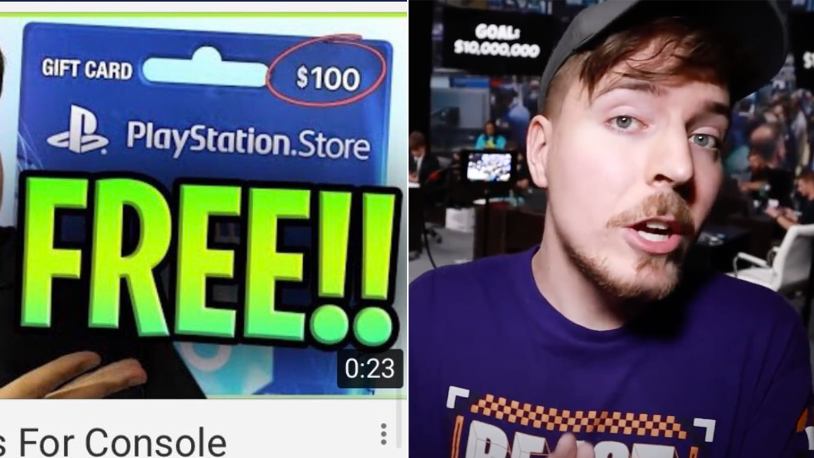 Mr Beast warns of scam on YouTube