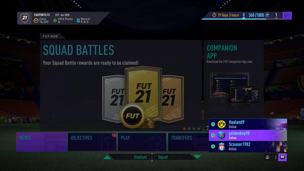 FIFA 21 Co-Op