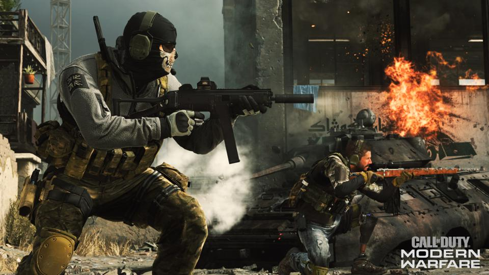 Modern Warfare Ghost gameplay