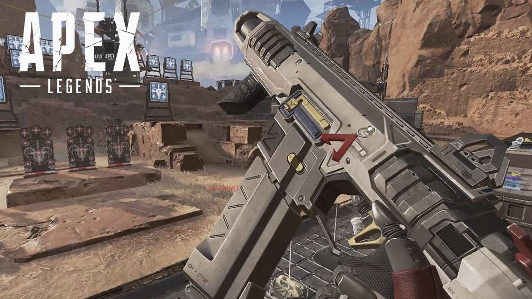 R-99 SMG in Apex Legends firing range