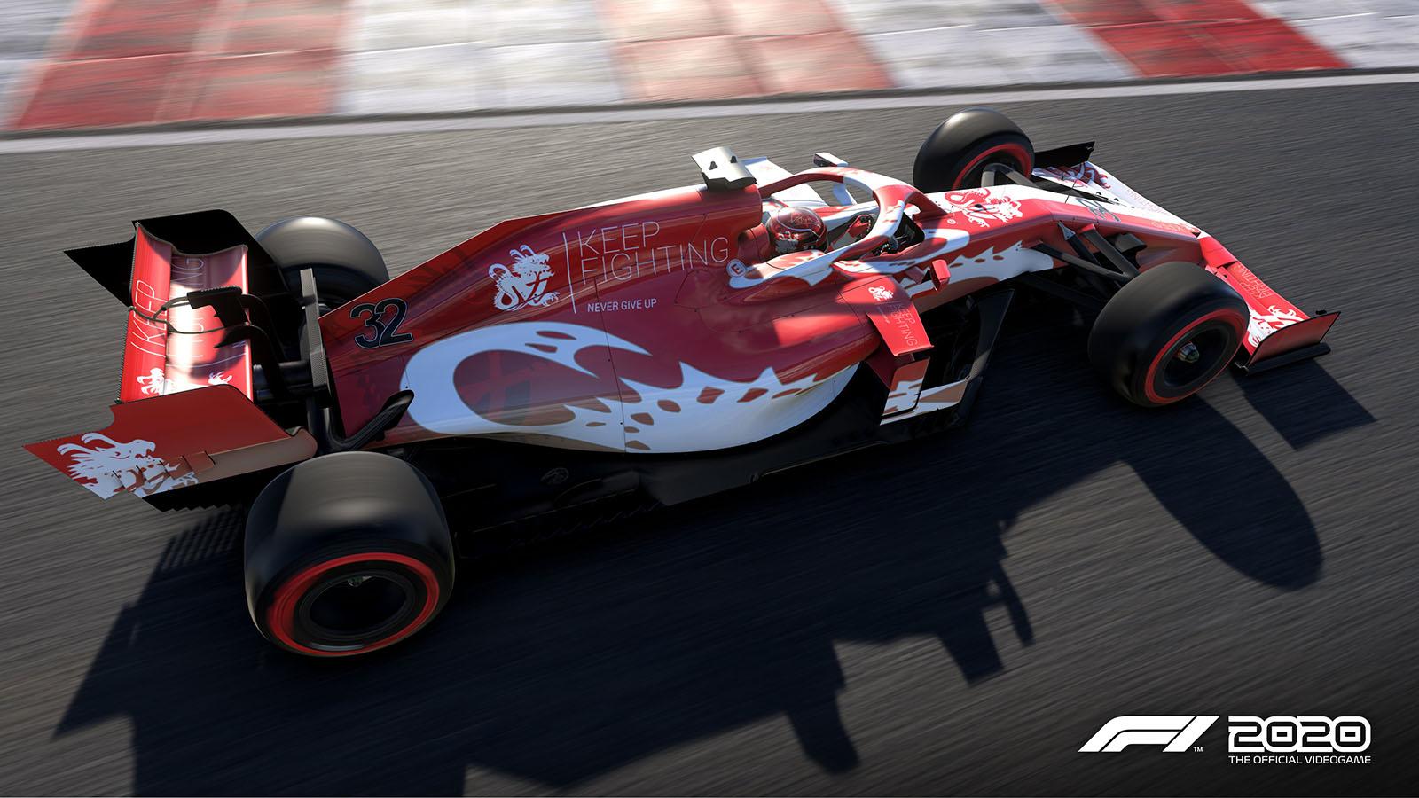F1 2020 Patch Keep Fighting Foundation DLC