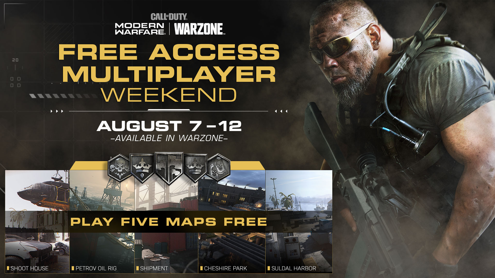 Free multiplayer weekend in Modern Warfare