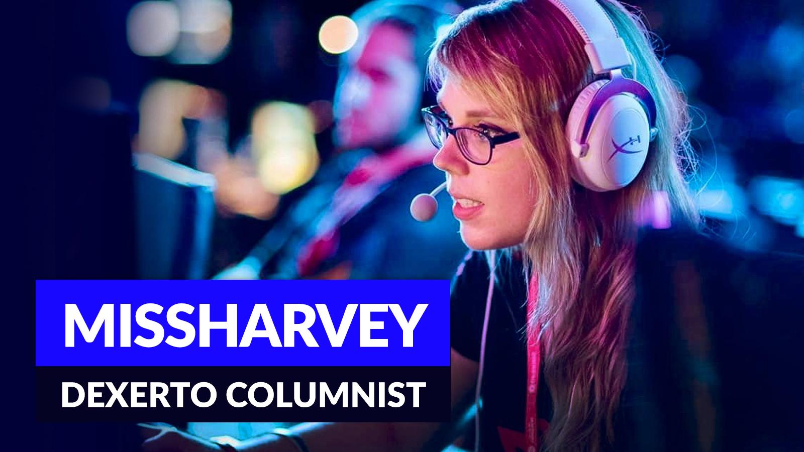 Missharvey playing CSGO