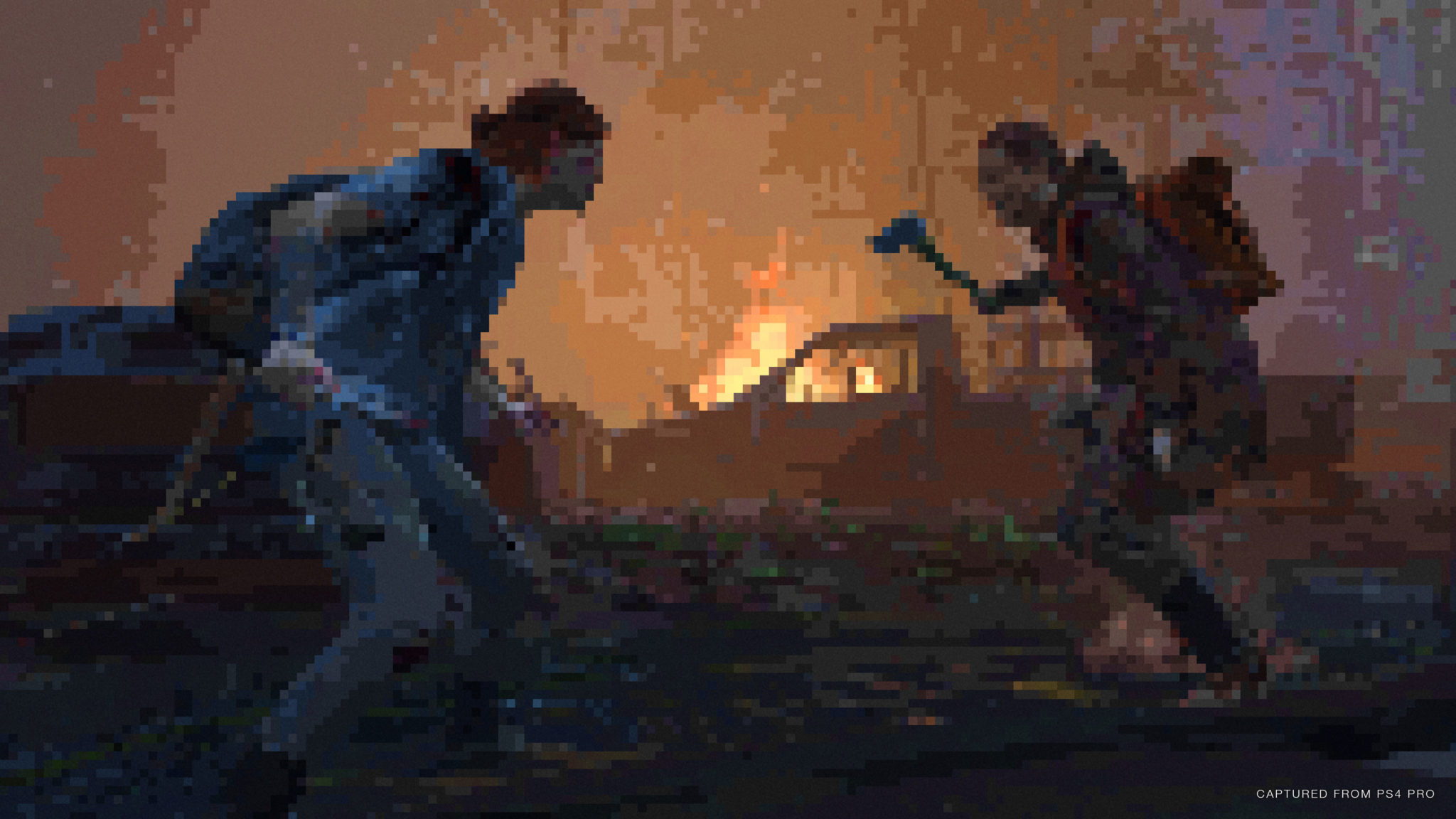 The Last of Us Part II Pixelated