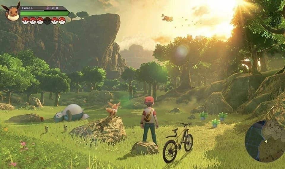 Pokemon Zelda Concept