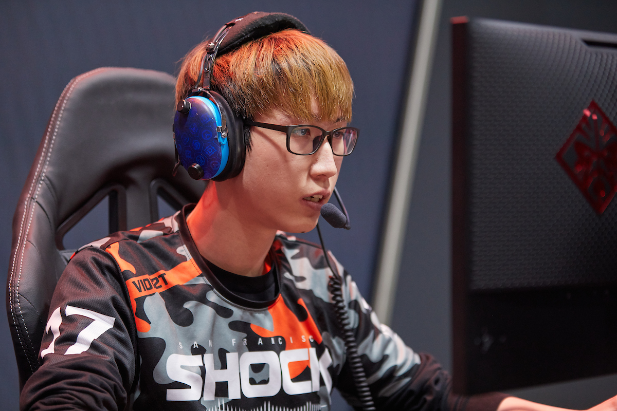 Viol2t during the 2019 OWL Grand Finals