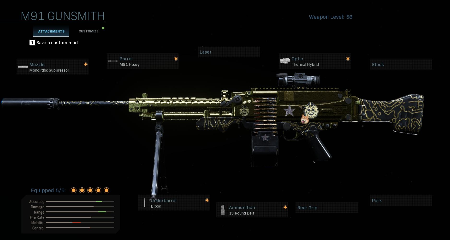 Modern Warfare M91