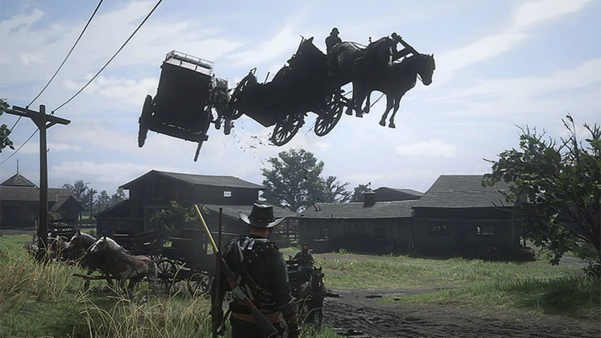 The Red Dead Online world has gone mad after Rockstar's latest title update.