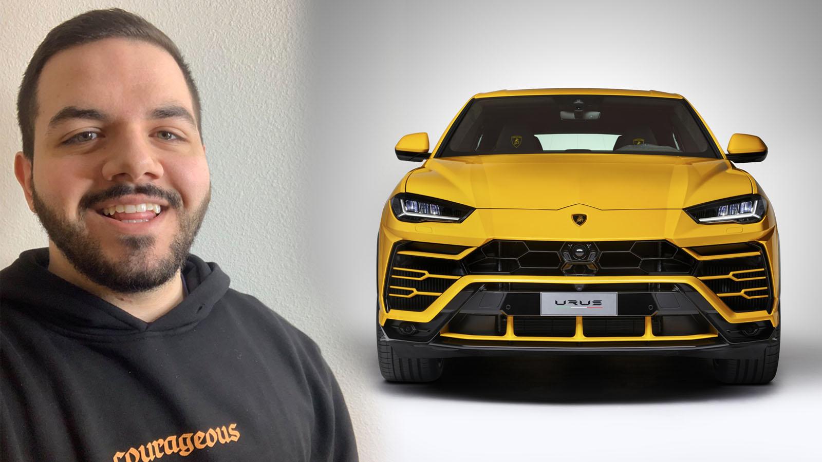 CouRage buys Lamborghini Urus