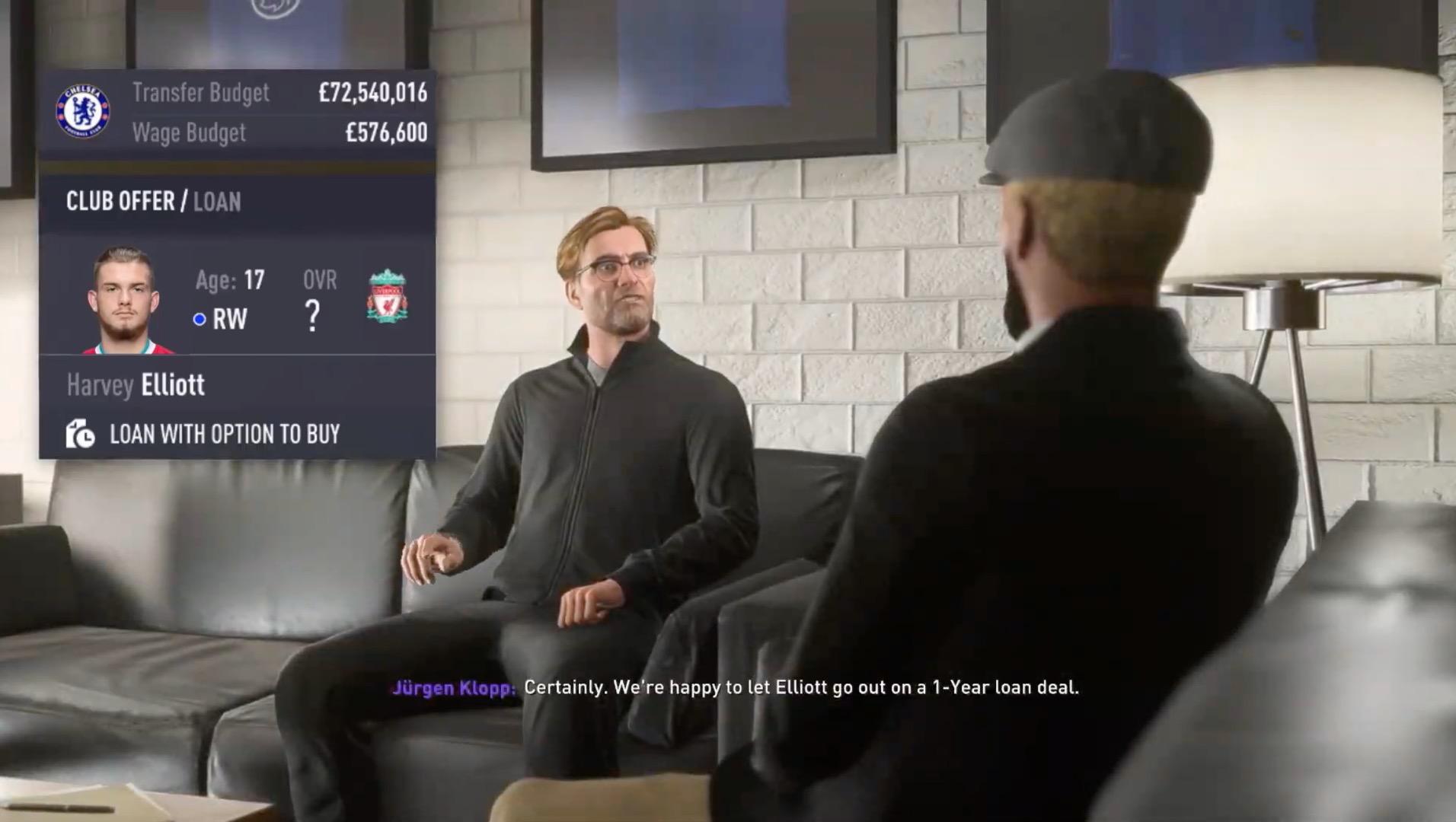 Klopp in FIFA 21