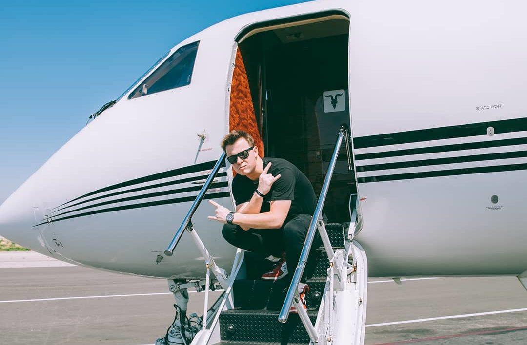 Muselk private jet