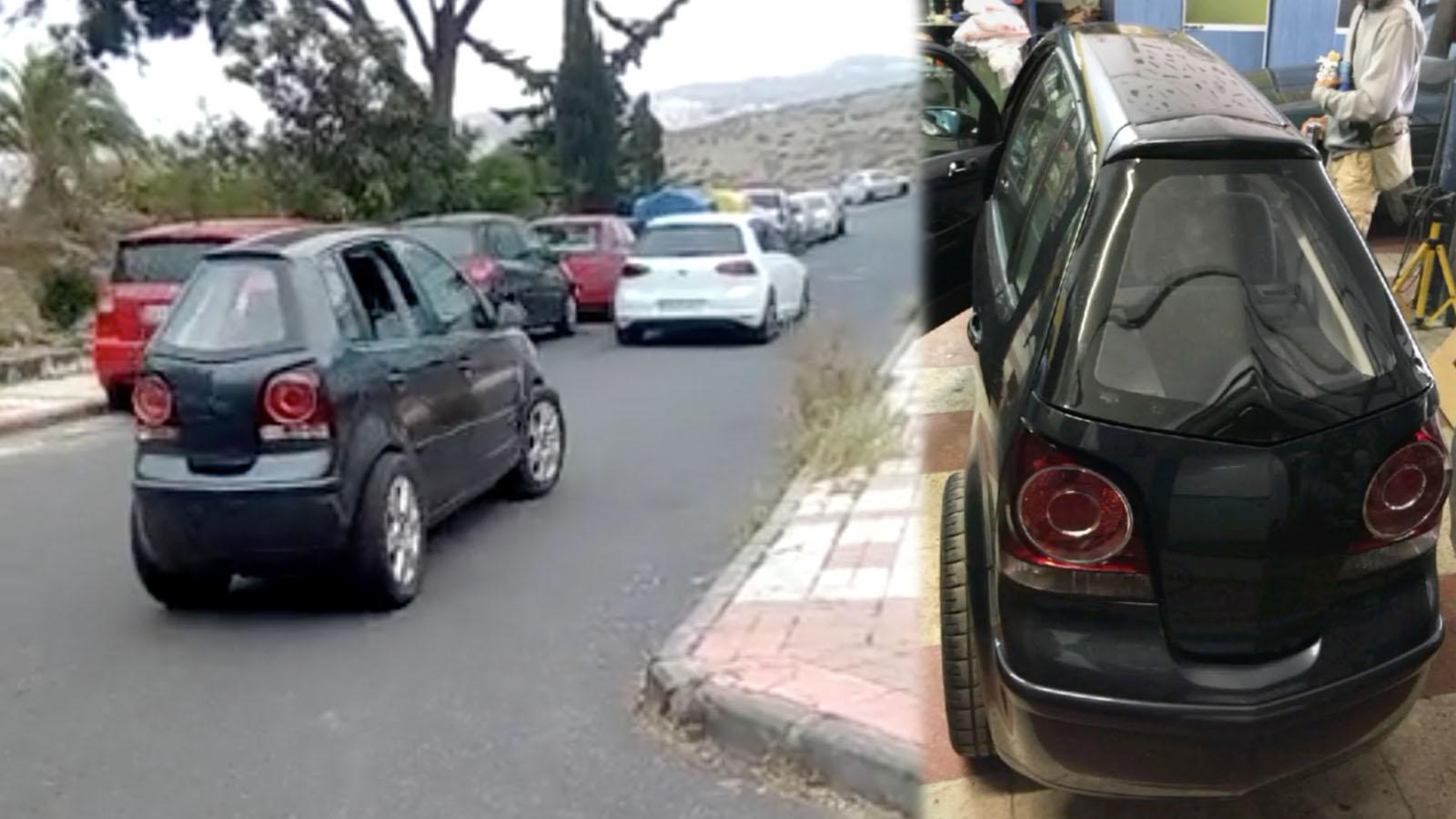 Thinny Car on street