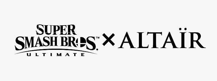 The Smash Ultimate x Altair logo