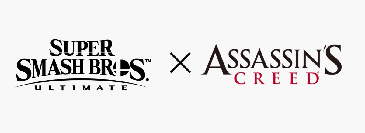 The Smash Ultimate Assassin's Creed logo