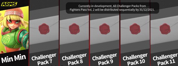 Min Min's Fighters Pass Volume 2 screen
