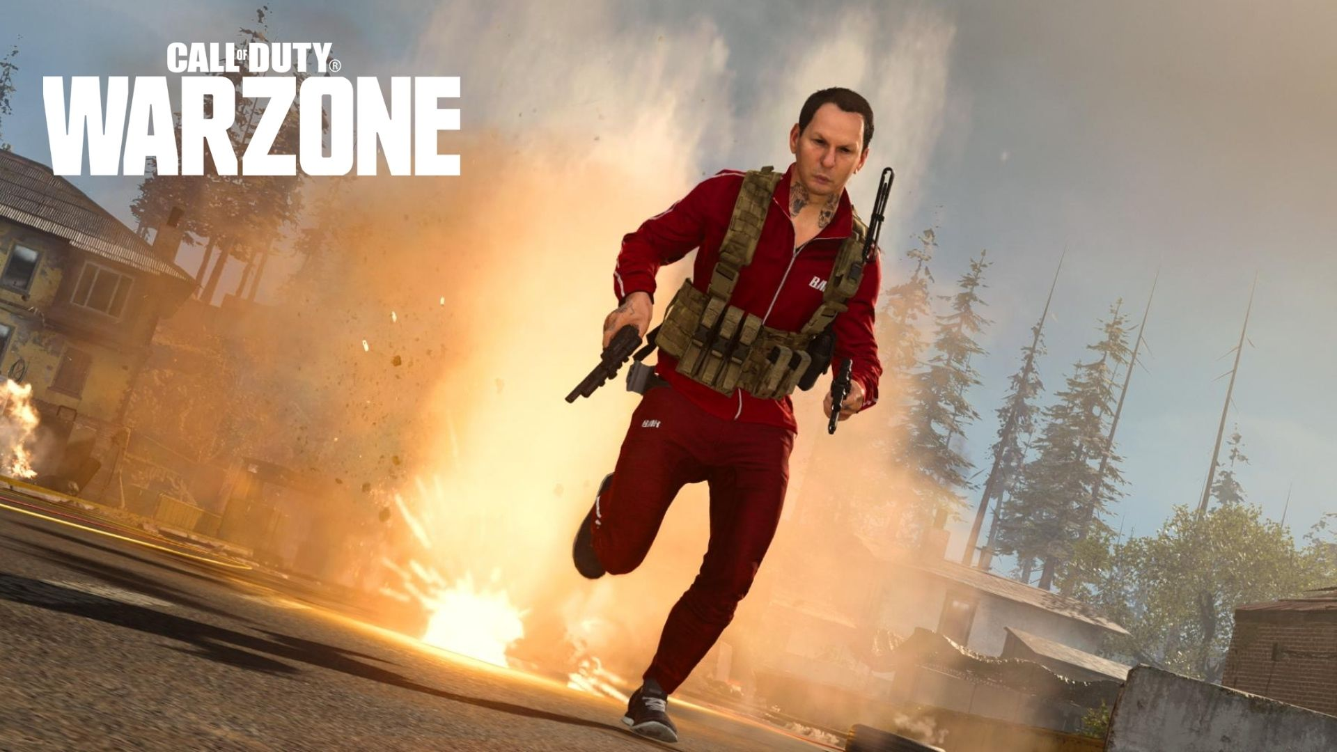 warzone running