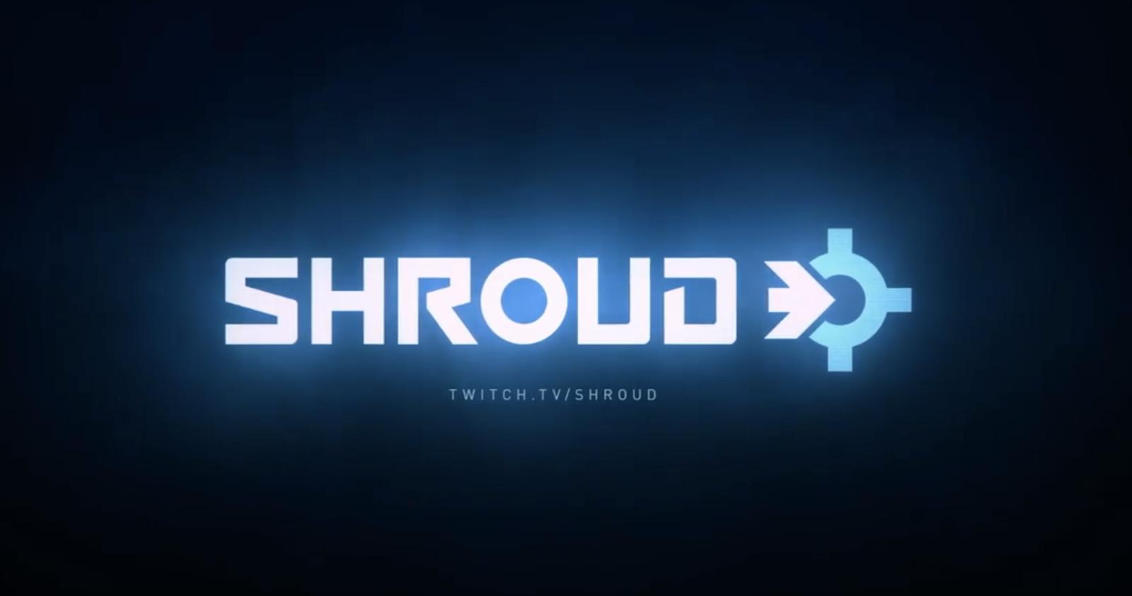 Shroud new logo on Twitch stream