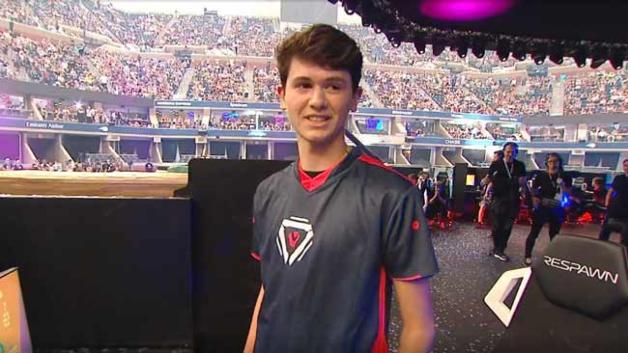 Bugha at the Fortnite World Cup 2019