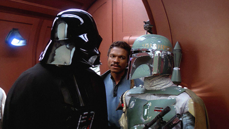 Boba Fett acted as Darth Vader's right hand man for much of Episode V: The Empire Strikes Back.