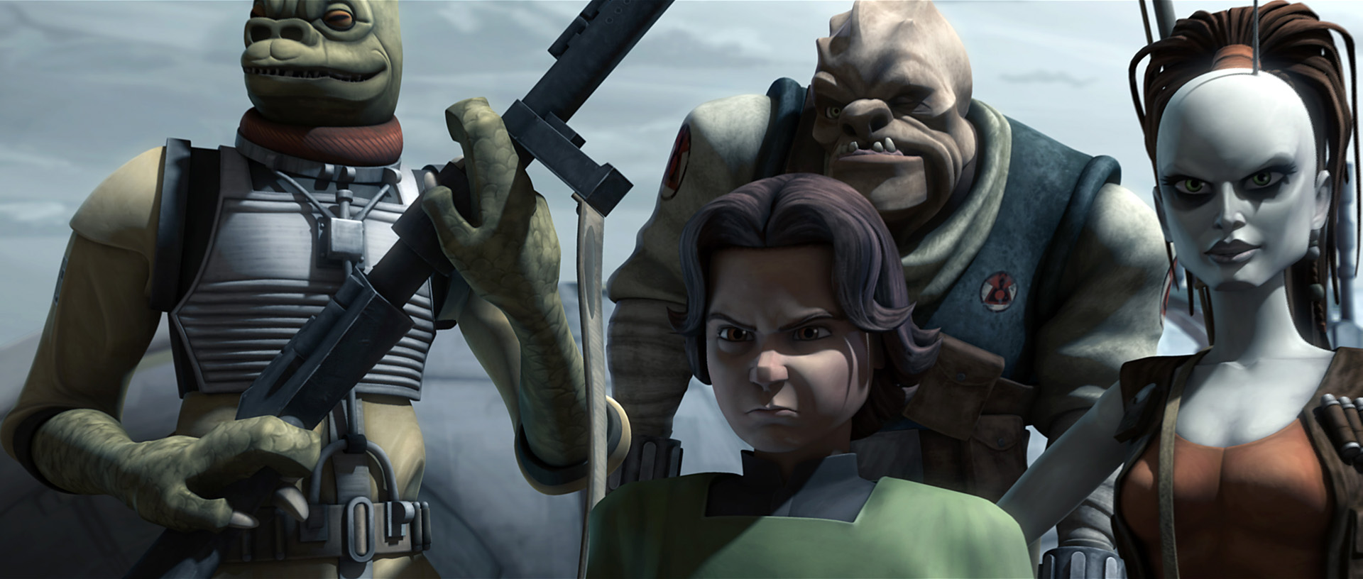 Boba Fett last appeared in the Star Wars universe as a young boy in The Clone Wars series.