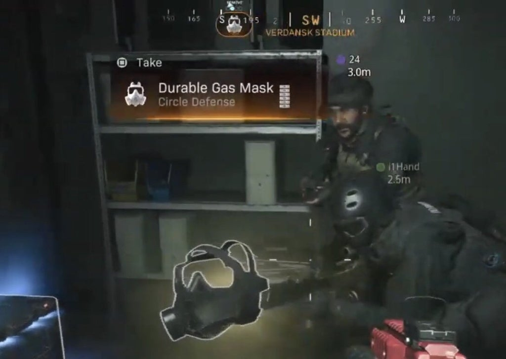Call of Duty Warzone Gas Mask