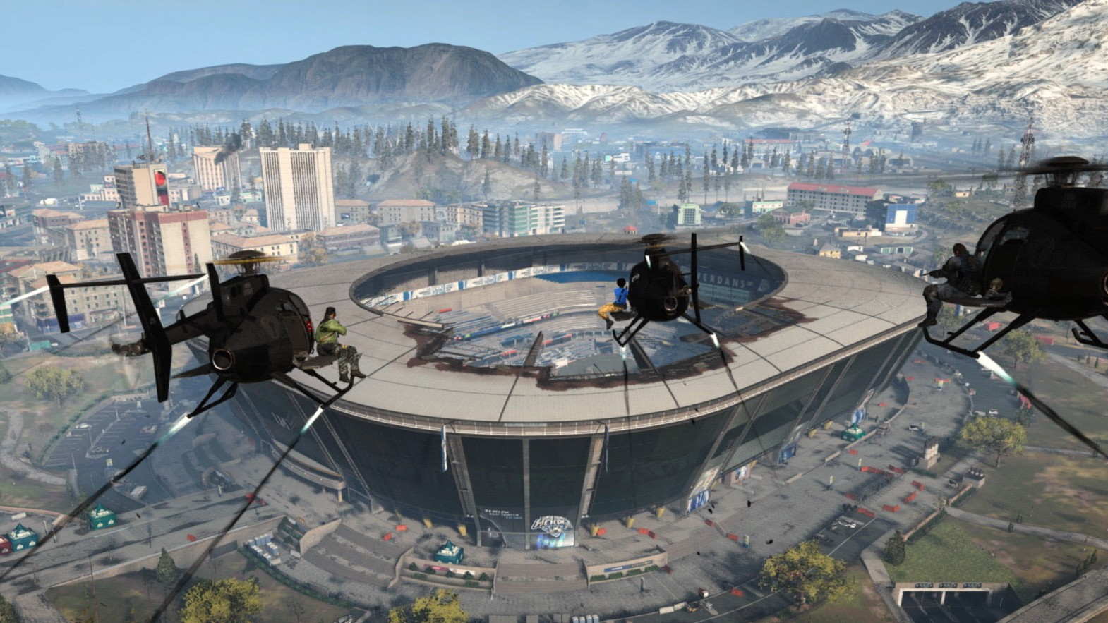 Call of Duty Warzone Stadium
