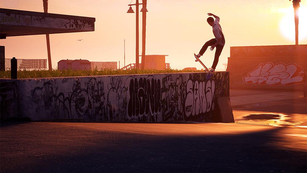 Tony Hawk Pro Skater remaster sunset