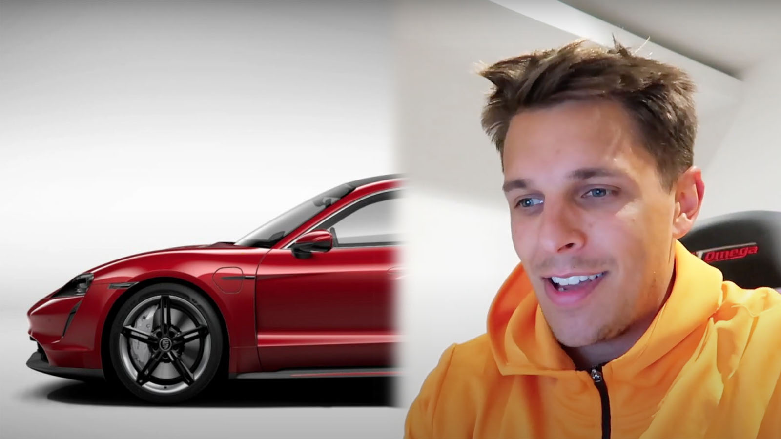 Archie Hamilton Specs Porsche Taycan
