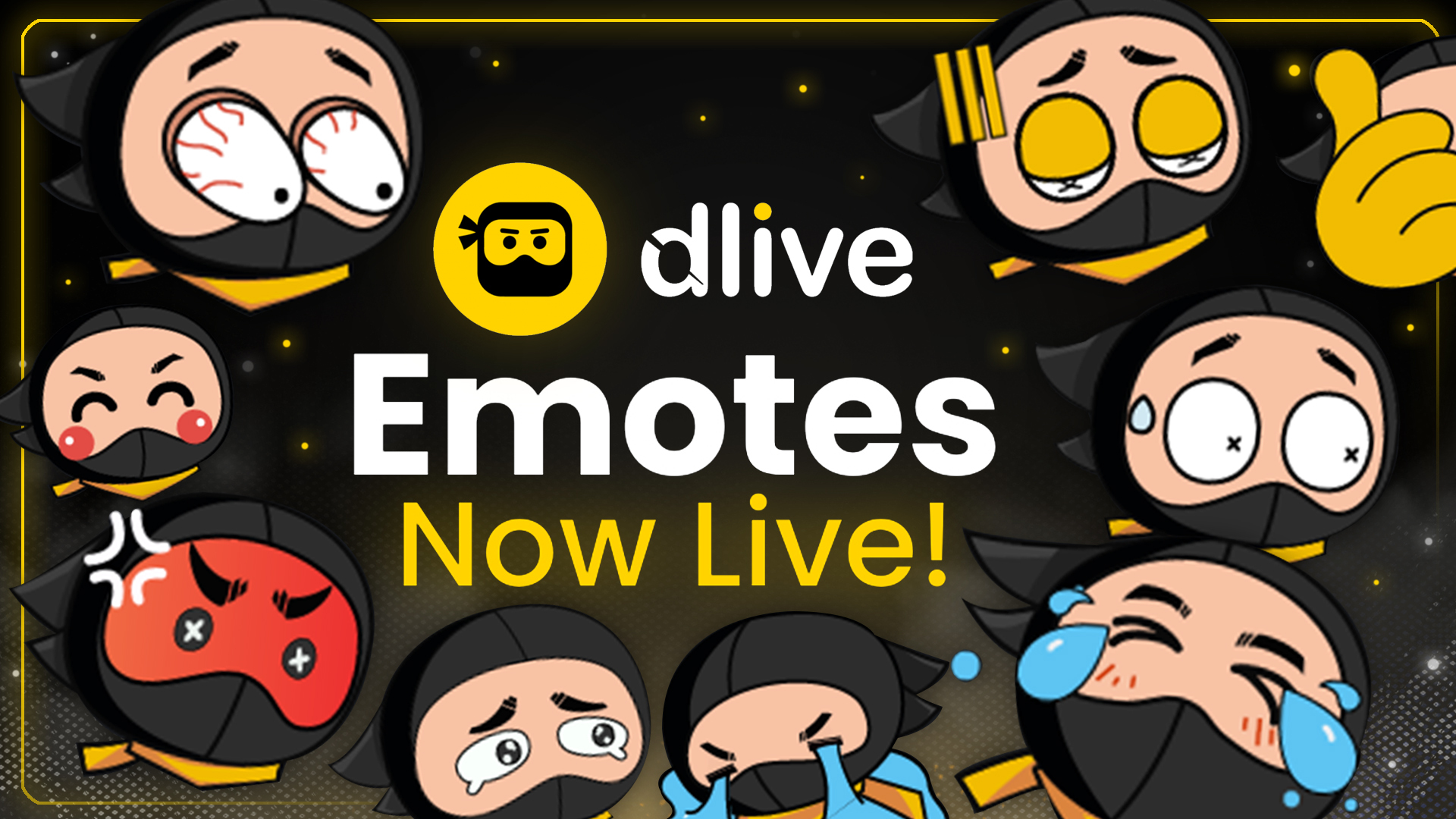 DLive new emote feature