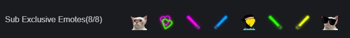 DLive sub emotes