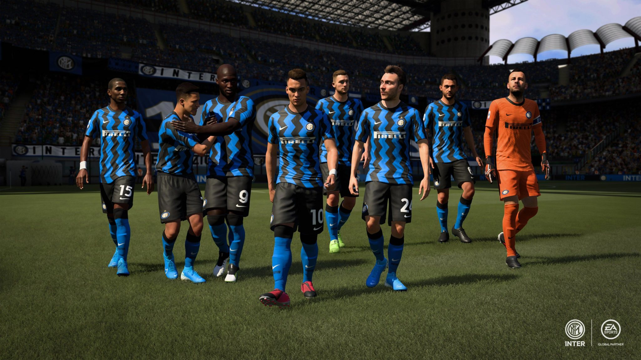 FIFA 21 Inter Milan team