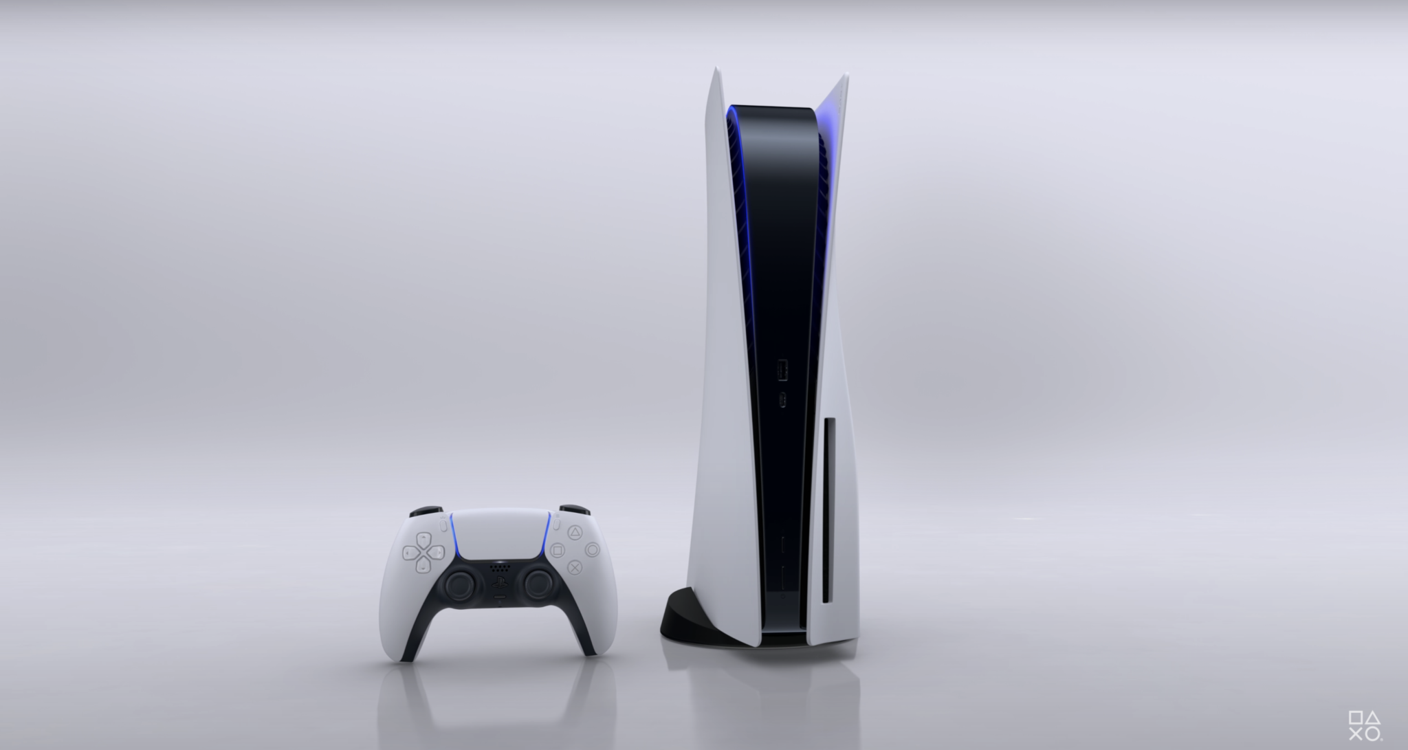 ps5 console with dualsense controller