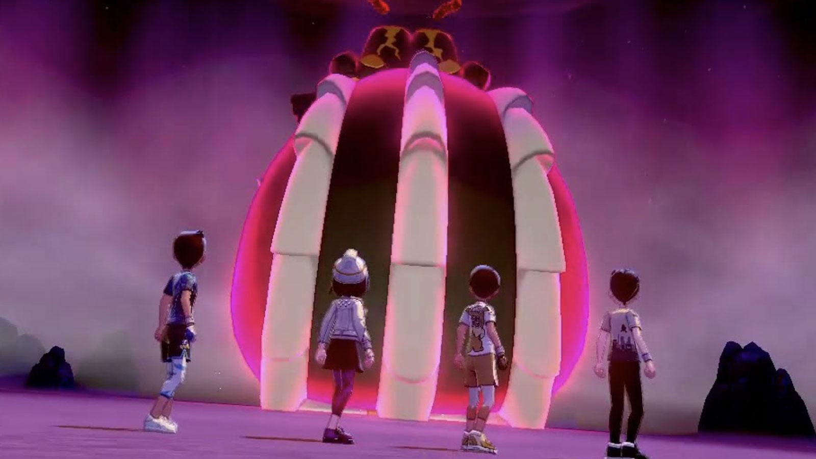 pokemon sword shield raid battle